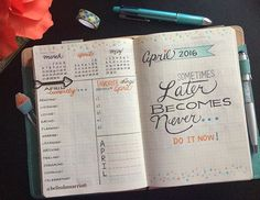Finally, finished April's dashboard in my bullet journal with the same fun prompts as last month's. I kept March's color theme, but emphasizing the coral-orange color. I'm loving these dotes. I think I'll repeat them in my April's dailies and weeklies. Happy Friday, Everyone! #bulletjournal #bulletjournaling #bulletjournaladdicts #bulletjournalcommunity #journal #journaling #april2016 #aprilspread #colors #colorful #dotes #planner #planning #plannergirl #plannerlove #planneraddict #plann...
