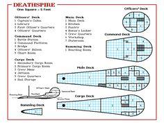 Deathspire Deckplans