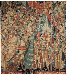 The War of Troy (Tapestry) | V&A Search the Collections