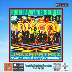 Bombshell Radio  Today Jazzamatazz  1pm-2pm EST 6pm-8pm BST 10am-11am PDT bombshellradio.com  Volume 6 of the Boogie Away The Troubles series of mixes full of classic retro feel-good disco floorfillers.  #Disco #Boogie #Classics #Retro #Oldies #Soulful #Groove #Floorfillers #70s #80s #Pop #bombshellradio #nowplaying