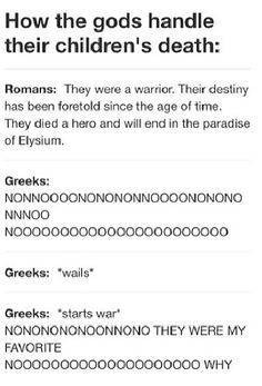 Image result for percy jackson greeks vs romans