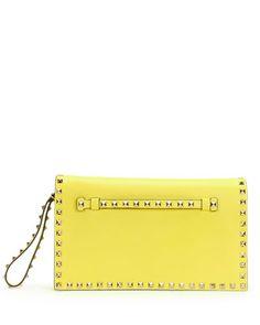 replica ysl clutch bag - Rockstud Flap Wristlet Clutch Bag, Watercolor by Valentino at ...