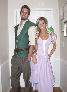 13 Disney Couples' Costumes for Halloween via Brit + Co. Ahhh this is too perfect!! :D