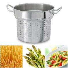 Espargueteira Nautilus Silampos  Para cozer e escorrer massas e vegetais.
