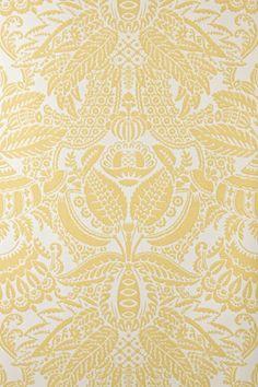 Damask I Farrow and Ball Love Wallpaper, Designer Wallpaper, Pattern Wallpaper, Luxury Wallpaper, Wallpaper Ideas, Cool Patterns, Print Patterns, Flower Patterns, Curtain Patterns