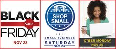 Is Your Website Ready For Black Friday, Small Business Saturday & Cyber Monday?