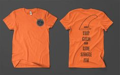 keep calm and rock that single fin!