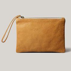 #brussosa #pochetteXL en mostaza #mustardlovers #leather #handmadeinbarcelona #shopbcn #shoplocal