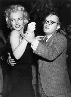 Marilyn Monroe e Truman Capote
