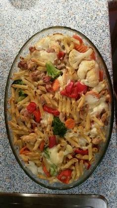Meat Recipes, Pasta Recipes, Chicken Recipes, Cooking Recipes, Healthy Recipes, Ital Food, Food Gallery, Donia, Light Recipes