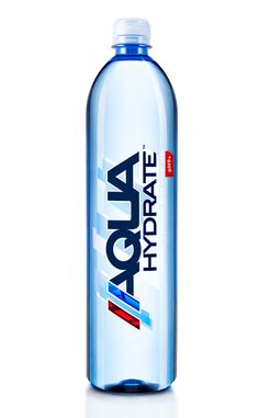 Aquahydrate post-workout water w vitamins but no sugar