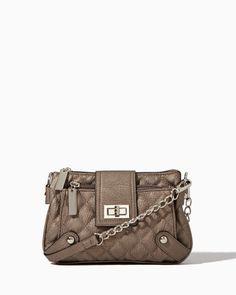 Quilted Queen Crossbody Bag #InspiredOutfits