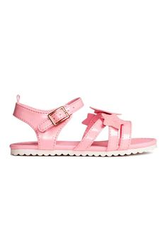 Patent sandals - Pink - Kids | H&M CA 1