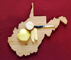 West Virgina Cutting Board.  Wild and Wonderful - just like my home state!