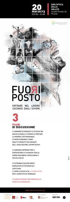 Fuoriposto | Locandina evento 20 marzo 2013