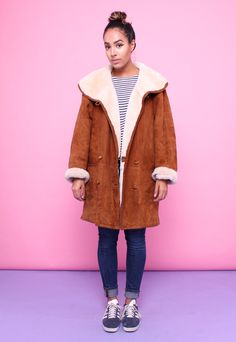 (99+) Vintage 70s Sheepskin Shearling Coat | House of Jam | ASOS Marketplace