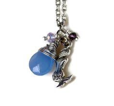 Mermaid Necklace Hawaiian Jewelry for Beach Brides by MermaidTearsDesigns, $22.00
