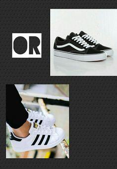 Adidas or vans??? 👟