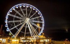 The Skywheel Helsinki in Finland - Finland launches rival to the London Eye - with a sauna cabin!