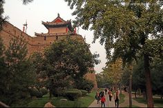 Day 34: XiAn Xi'An City, ShanXi Province, China, Ancient City Wall, wild goose pogoda, bell drum tower, benevolence, half way up the mountain site, Palace of Qing Dynasty, Li mountain, Chinese Foods