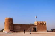 Search yesterday to know today!  A Place not to be missed! Al Zubarah Fort and Archaeological Site! Exclusive Gallery of what is in store at Rush360' Qatar!