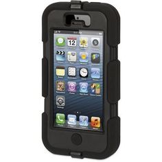 Protection Survivor License Griffin pour I-Phone 5 Colori Noire