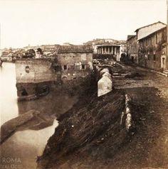 Via di Porta Leone (Henri Plaut, 1859)