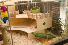 Center - Ikea hack Knuff 2 level hideout | DIY 2-level hamst… | Flickr