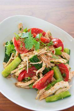 Shredded Chicken and Sesame Salad Recipe