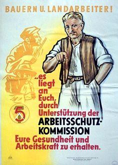 Wieder ein paar DDR-Propaganda Plakate aus meiner Sammlung. Die Plakate sind keiner Ordnung zugehörig und wurden spontan ausgewählt. Eigentlich sind die guten Stücke ja hülseninhaltlich mehr oder weniger austauschbar, dennoch üben diese Papierzeugnisse aus dem nicht-digitalen Zeitalter auf mich eine