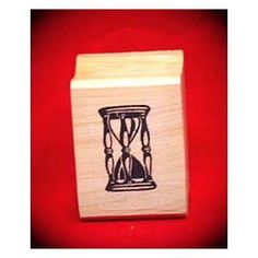 Hourglass Art Rubber Stamp - You'll need a separate ink pad, but this #Hourglass Art #Rubber #Stamp is easy to use and even easier to order! Click here to get started.