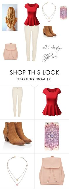 """""""Liv Rooney"""" by mrsgomez-343 on Polyvore featuring River Island, Michael Kors and New Look"""