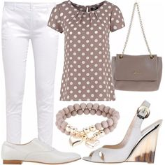 Outfit Pretty woman in pantaloni Office Outfits, Casual Outfits, Summer Outfits, Bad Fashion, Fashion Outfits, Womens Fashion, Outfit Sets, My Outfit, Flat Shoes Outfit