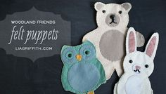 <p>Delight a child with these lovingly hand-stitched Woodland Friends DIY Felt Puppets . These run on imagination, not batteries! Added to Owl Crafts and Stuffed Animal Sewing Patterns You might also like:Scrappy Owl Trick or Treat Bags TutorialHandmade Owl Heat Pack Sewing PatternOwl Hooded Towel Sewing Pattern and Tutorial200+ Free …</p>