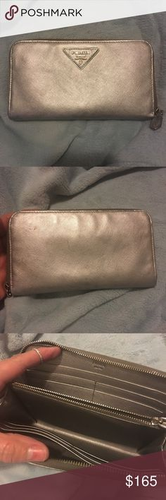 ⚜️PRADA⚜️AUTHENTIC WALLET Authentic PRADA wallet. Used and refurbished. Still in great condition!! Offers welcome😊 Prada Bags Wallets