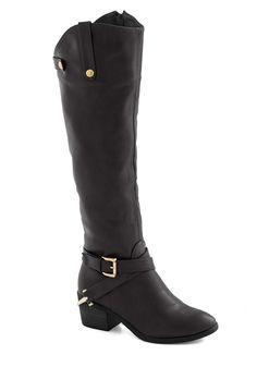 modcloth. black boots