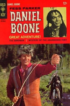 Daniel Boone Vol 1 11 Silver Age Comic Book. by RubbersuitStudios Silver Age Comics, Vintage Comic Books, Vintage Comics, Mejores Series Tv, John Carter Of Mars, Western Comics, Tv Westerns, Old Comics, Old Shows
