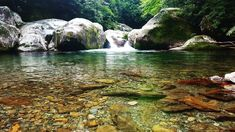 Relaxing by a Smoky Mountain stream is so peaceful