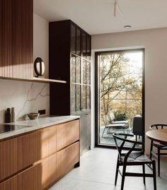 Kitchen Room Design, Kitchen Interior, Kitchen Decor, Interior Design Inspiration, Home Interior Design, Kitchen Inspiration, Interior Photo, Beautiful Kitchens, Home Kitchens