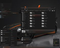 Dark Agility for Visual Style themes - free Windows 7 Visual Styles, Windowblinds, Miscellaneous themes download