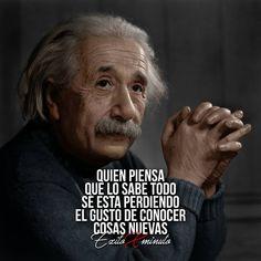Invierte en ti en la persona mas importante y en tu @exitoxminuto ✌. . Contenido para emprendedores . . Motivación diaria . . Comparte… Inspirational Phrases, Motivational Phrases, The Success Club, Quotes En Espanol, Smart Quotes, Albert Einstein Quotes, Typography Quotes, Spanish Quotes, Just In Case