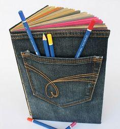 поделки из старых джинсов своими руками