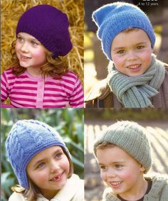 haute c-f j Knitting For Kids, Baby Knitting, Knit Crochet, Crochet Hats, Outfits With Hats, Kids Hats, Baby Booties, Baby Hats, Knitted Hats