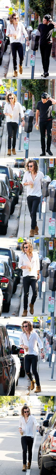 Harry Styles>>> I don't know if its just me but his style in clothing is hot!!!