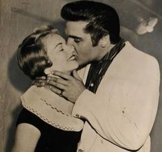 Anita Wood-Elvis Presley - Elvis and Anita spent a lot of time together in Memphis before his career really took off. They would usually spend their time at the cinema, the skating rink or place they both loved, Libertyland. While dating Elvis, Anita got to know Gladys Presley very well.