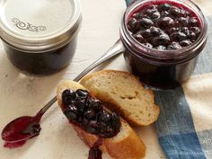 Alton Brown's easy Spiced Blueberry Jam is a sweet addition to breakfast.