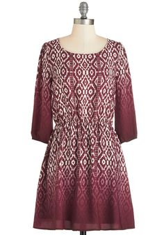 Grab a Byte to Eat Dress. Dine with your programming pals in smart style by wearing this printed dress! #red #modcloth