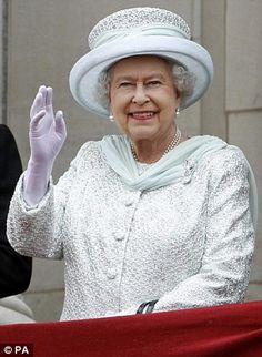 The Queen (pictured) did not attend the traditional church service at Sandringham because she was too ill