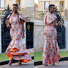 """1,091 Likes, 8 Comments - Ankara Styles By Mawuli (@ankarastyles) on Instagram: """"Starting our week with Miss @ebinabomb_10  #ankarastyles"""""""
