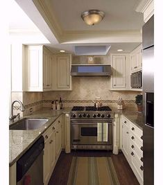 Pinterest the world s catalog of ideas for Galley kitchen cabinets for sale